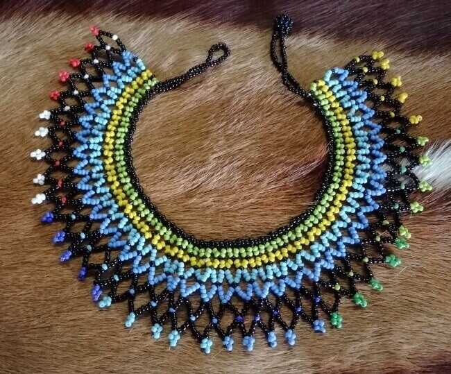 Zulu Beaded Necklaces